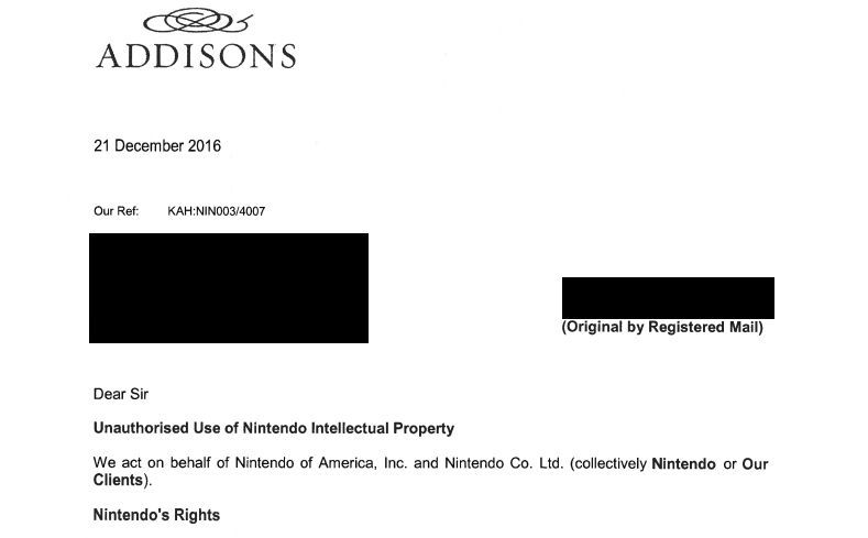 Nintendo-takedown-legal-notice