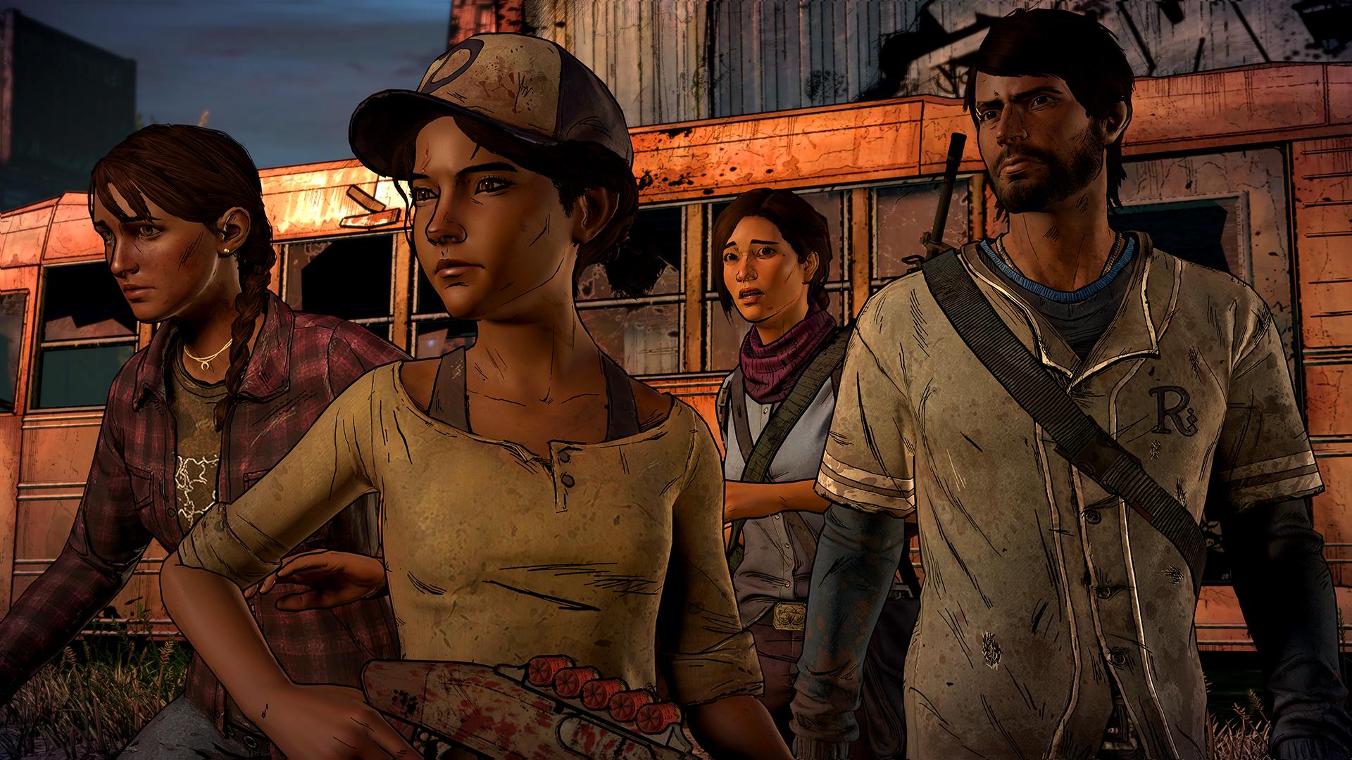 تصاویر جدیدی از The Walking Dead: A New Frontier منتشر شد